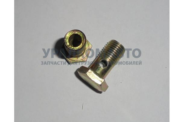 болт полый топливной трубки M14 L=28 SHAANXI 90003962621A